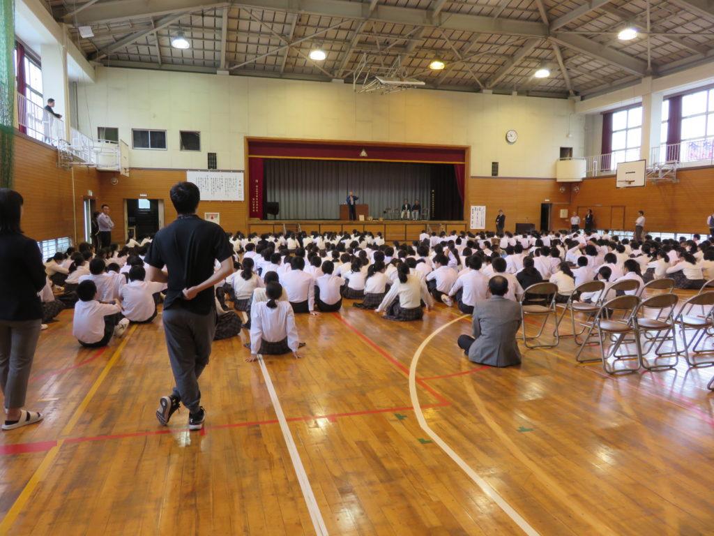 さいたま市大宮区の桜木中学校での木力館のとりくみ