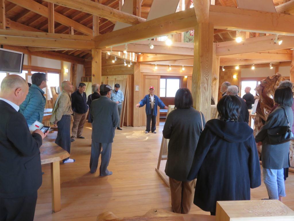 徳島県より団体様が視察の為来館されました